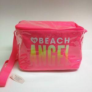 NWT Victoria's Secret Beach Angel cooler bag pink